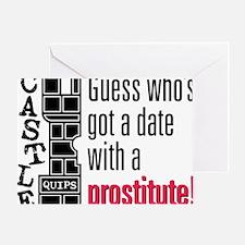 Quips_Prostitute_lite-crop Greeting Card