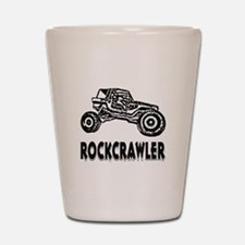 Rock Crawler_1012_black Shot Glass