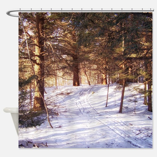 In to the woods Shower Curtain