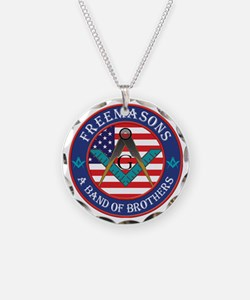Band Of Brother Masons Necklace