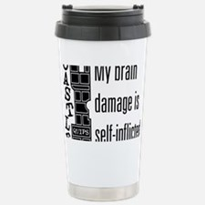 Quips_BrainDamage_lite-crop Travel Mug
