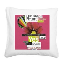 balloon16x20red Square Canvas Pillow