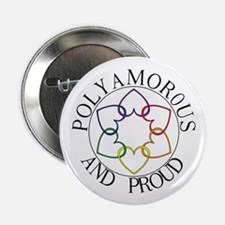 Poly and Proud circle logo Button