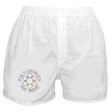 Poly and Proud circle logo Boxer Shorts