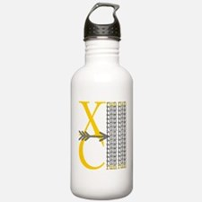 XC Run Yellow Grey Water Bottle