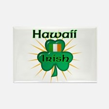 Hawaii Irish Rectangle Magnet