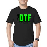 Dtf down to fish Fitted T-shirts (Dark)