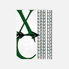 XC Run Green Black 5'x7'Area Rug