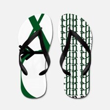 XC Run Green Black Flip Flops