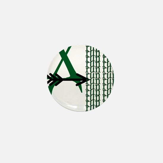 XC Run Green Black Mini Button