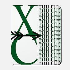 XC Run Green Black Mousepad