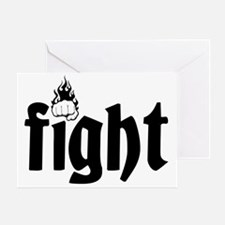 fight7 Greeting Card