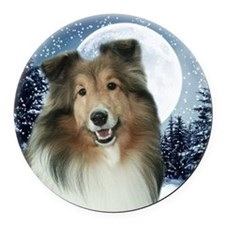 Gracie2010Orn Round Car Magnet
