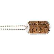 Weighing_of_the_Heart_no_border Dog Tags