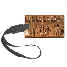 Weighing_of_the_Heart_no_border Luggage Tag