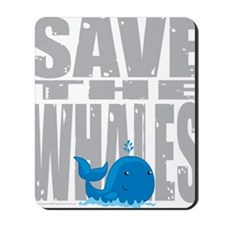 Save-the-Whales Mousepad
