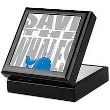 Save-the-Whales Keepsake Box