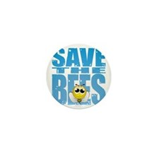Save-the-Bees Mini Button