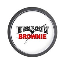 """The World's Greatest Brownie"" Wall Clock"
