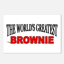 """""""The World's Greatest Brownie"""" Postcards (Package"""