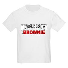 """The World's Greatest Brownie"" Kids T-Shirt"