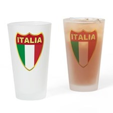 italy-shield Drinking Glass