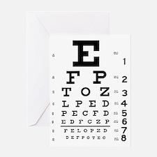 eyechart_full_page Greeting Card
