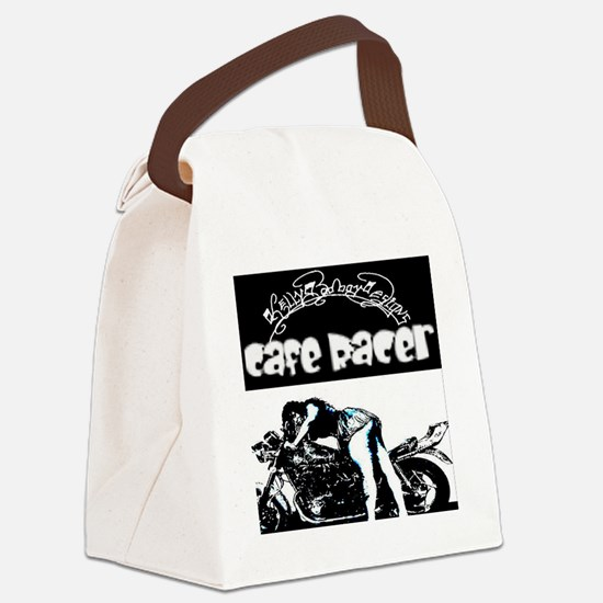 l clock cafe racer 1 Canvas Lunch Bag