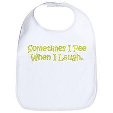 Sometimes I Pee Bib