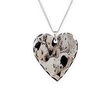Dalmation ov ornament Necklace