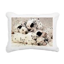 Dalmation lg fr print Rectangular Canvas Pillow