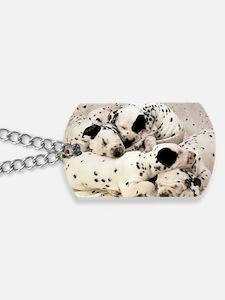 Dalmation lg fr print Dog Tags