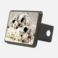Dalmation sm fr pan print Hitch Cover