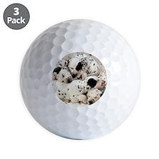 Dalmation sm fr pan print Golf Ball