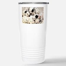 Dalmation sm fr pan print Travel Mug