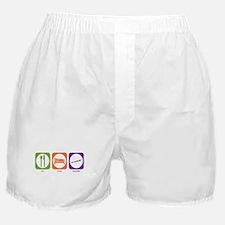 Eat Sleep Recorder Boxer Shorts