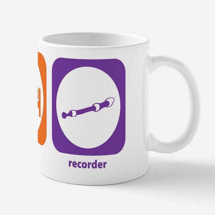 Eat Sleep Recorder Mug