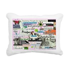abuse14x10 Rectangular Canvas Pillow
