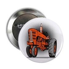 """NX_tractor_front view_wkng_HALFTONE 2.25"""" Button"""