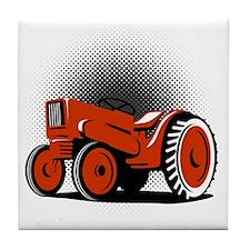 NX_tractor_korn_HALFTONE Tile Coaster