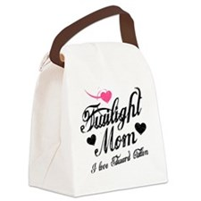 Heart Twilight Mom Canvas Lunch Bag
