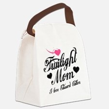 Heart Twilight Mom Canvas Lunch Bag