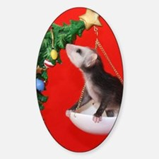 Christmas Tree Opossum Decal