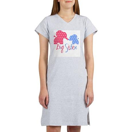 ElephantBigSisterGirlBoy Women's Nightshirt