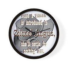 colonelangus2 copy Wall Clock