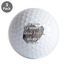 colonelangus2 copy Golf Ball