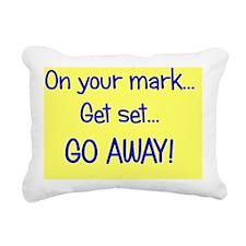 goaway_rect Rectangular Canvas Pillow