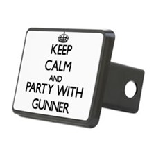 Keep Calm and Party with Gunner Hitch Cover