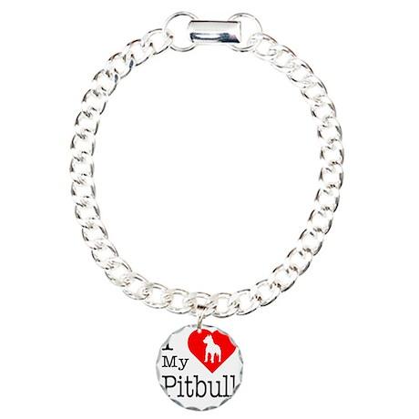 Pitbull.eps Charm Bracelet, One Charm