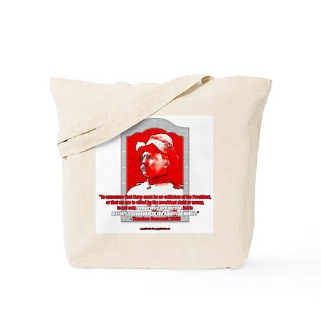Morally Treasonable Tote Bag